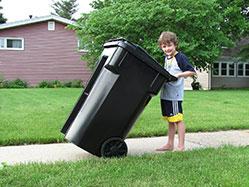 分类塑料垃圾桶的特点和优点
